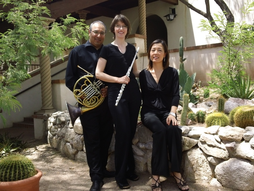 Victor Valenzuela, horn; Deena Reedy, flute; Ji Sun Lee, piano