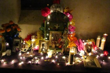 all souls ofrenda 2012