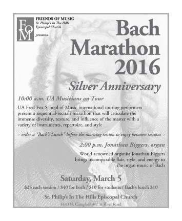 bach marathon flier