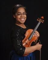 Carissa Powe, violin